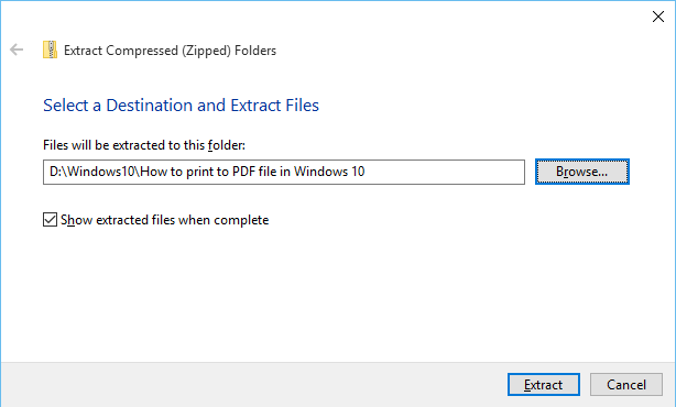 How to zip and unzip files in Windows 10 - SimpleHow