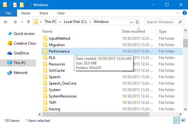 folder size windows cmd