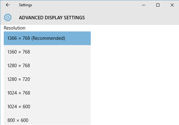 How to change screen resolution in Windows 10 - SimpleHow