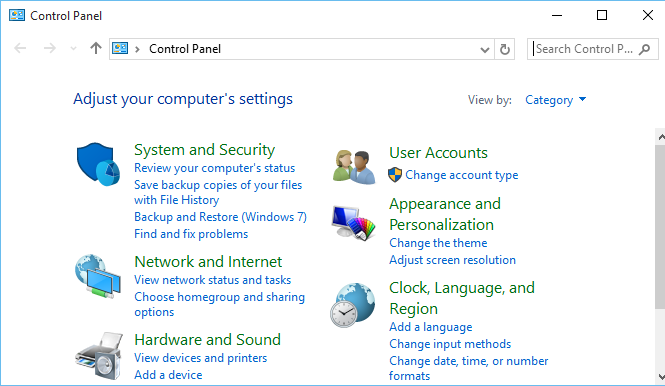 How to open Control Panel in Windows 10 - SimpleHow