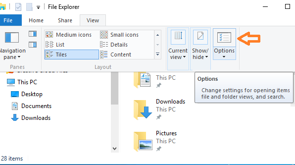 How to disable Frequent folders or Recent files in Windows