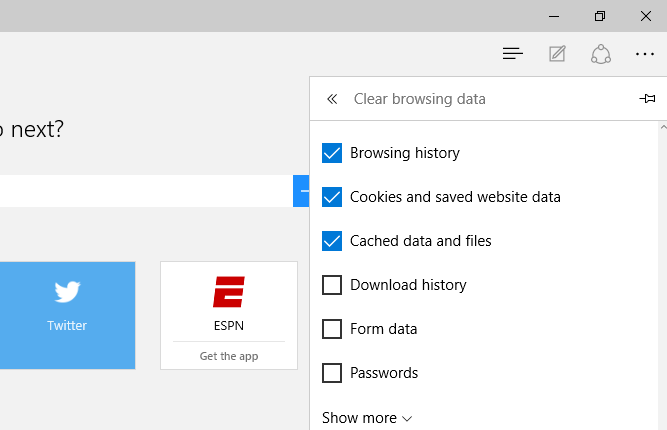 How to delete browsing history in Microsoft Edge browser - SimpleHow