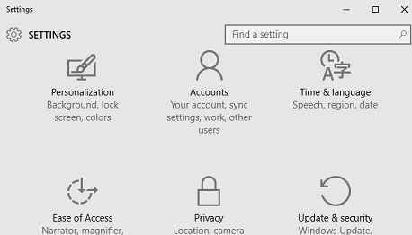 How to change from Microsoft account to local login account